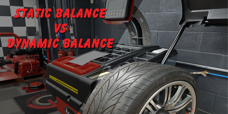 Static wheel balance vs dynamic wheel balance