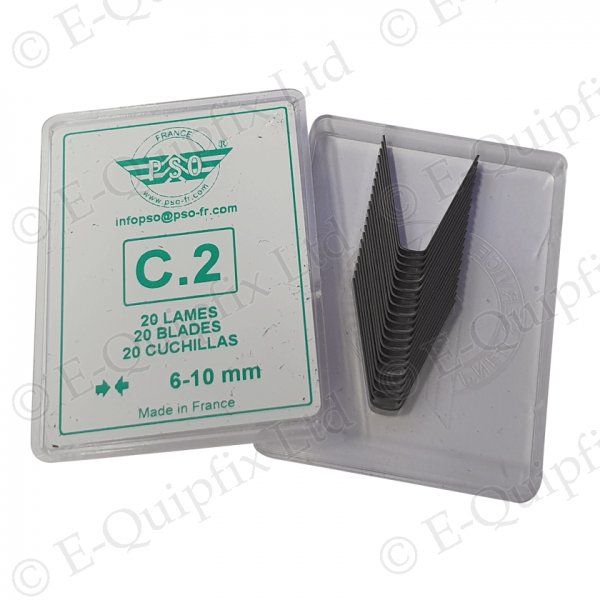 C2 Cutting blade Pack for PSO Regroovers