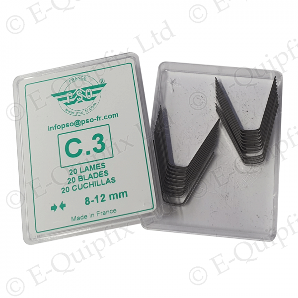 C3 Cutting blade Pack for PSO Regroovers