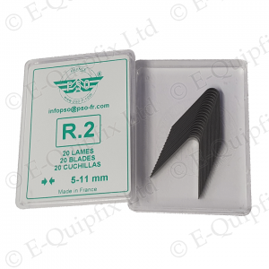 R2 Cutting blade Pack for PSO Regroovers