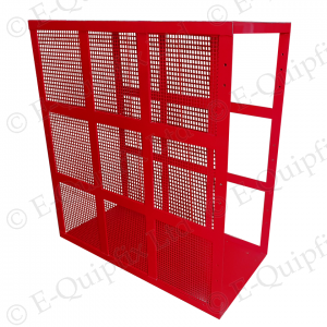E-quipfix tyre inflation safety cage with side mesh
