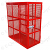 E-quipfix tyre inflation safety cage with side mesh and door