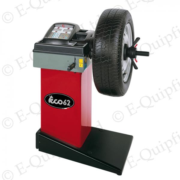 The Teco 62 Mobile tyre fitting Wheel Balancer