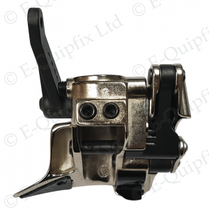 Front view of a leverless demount head suitable for Teco and Corghi tyre changers