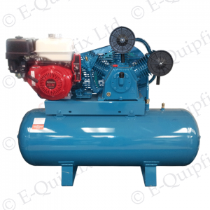 Petrol Air Compressor 25 cfm