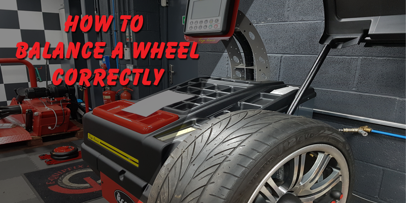 How to balance a wheel correctly