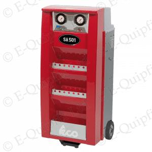 Teco-SA501 Nitrogen Generator with wheeled cabinet