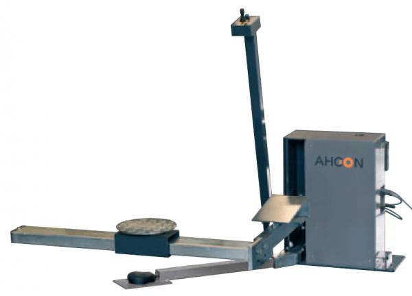 Ahcon Flowline System - Wheel Balncer Centering Lift